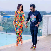 Bahati Makes Fun Of Diana Marua After Doing The Following