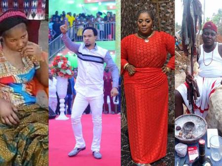 Native doctor forgives Ada Jesus at his shrine after Pastor Odumeje and Rita refused to forgive her