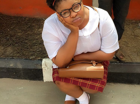 Iyabo Ojo, Motirayo & Other Fans React Minutes After Dayo Amusa Is Pictured In A School Uniform