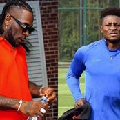 Obafemi Martins confirms 'misunderstanding' with Burna Boy