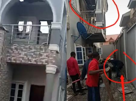 Fire Is Good Servant But A Bad Master: See What Happened To A Beautiful House That Caught Fire