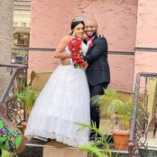 See Lovely Wedding Photos Of Yul Edochie With Fast Rising Actress On Movie Set