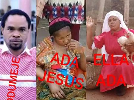 Check out what Ella Ada said after Pastor Odumeje swore not to forgive Ada Jesus