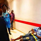 See Photos As The Governor Of Lagos Visit victims of the lekki Toll gate shootout