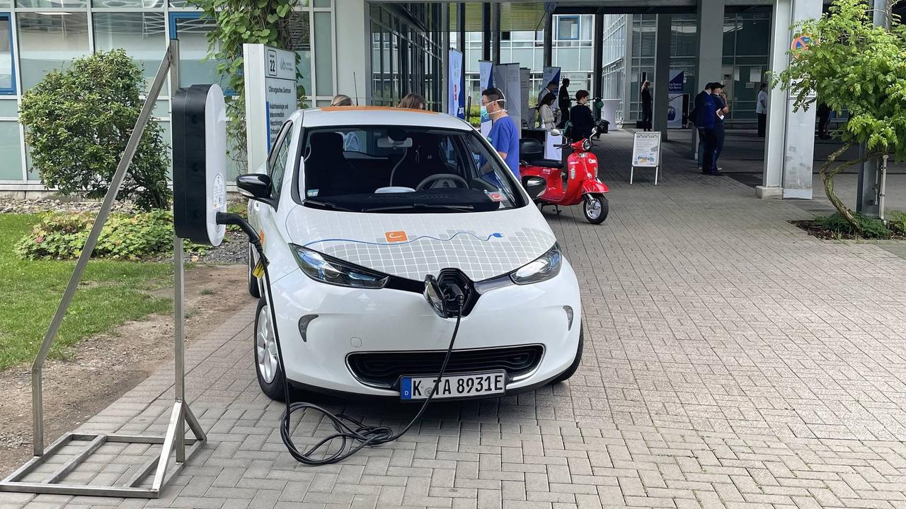 Mobilitätstage an Uniklinik Bonn: Seilbahn steht hoch im Kurs