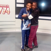 Eric Omondi Posts A Pic Of His Most Die-Hard Fan
