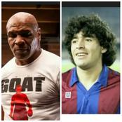 3 Hrs After Diego Maradona Died, See What Mike Tyson Tweeted In Honour Of Him