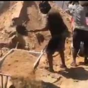 Video Of Mike Sonko Loading Sand In Wheelbarrows In A Construction Site Excites Kenyans