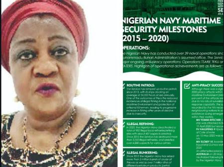 Lauretta Onochie Lists The Achievements Of The Federal Government In Security As At January 2021