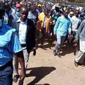 DP Ruto Moves To Cement His Rift Valley Backyard, Receives A Heroic Welcome In Endebes-Trans Nzoia