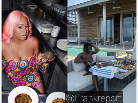 After Otedola's Daughter Posted A Picture Of Food She's Eating, See What Mr Eazi Posted