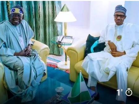 Buhari Greets Bola Tinubu As He Celebrates His Birthday Today.