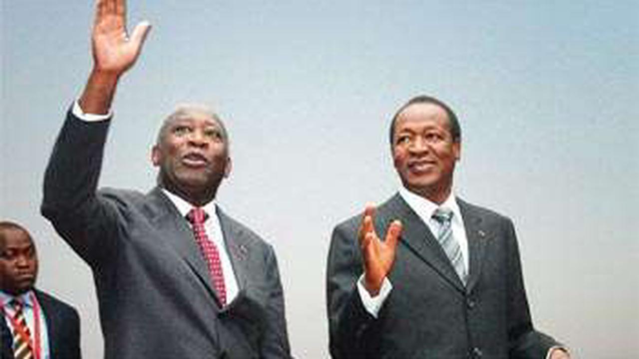 Quand les présidents Laurent Gbagbo et Blaise Compaoré deviennent des voisins à Cocody