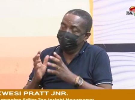 COVID-19: We Cannot Do That - Kwesi Pratt boldly tells Akufo-Addo