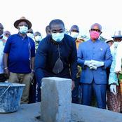 Tabou / Le ministre Félix Anoblé lance les travaux de construction de la sous-préfecture Djamadjoké