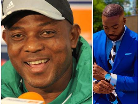 4 Years After The Death Of Nigerian Football Legend Stephen Keshi, See How His First Son Looks Now