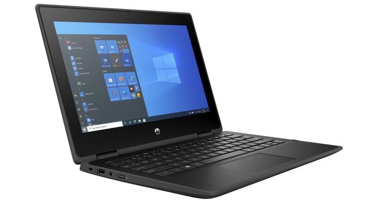 The HP ProBook x360 11 G7 E is a laptop built to stand up to student life