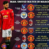 Manchester United Next 6 Fixtures that Could See them Replace Man City at the Top of EPL - Opinion