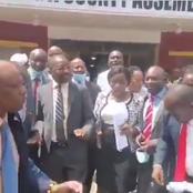 Video of Murang'a MCAs Chanting 'Kang'ata Must go' After Unanimously Passing The BBI