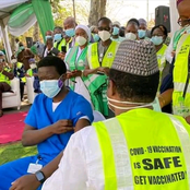 Nigeria Begins COVID-19 Vaccination Drive, As President And Vice Receive Vaccine On Saturday