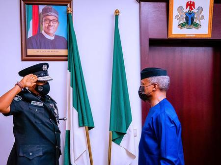 After Prof Osibanjo shares all he has achieved while the president is away, see how people reacted.