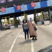 Aisha Yesufu Finally Visits Lekki Toll Gate Today, Read What She Said After Visiting There.