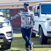 "The estate of late Zimbabwean gold dealer ""Boss Kangara"" buried with stacks of money"