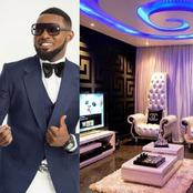 See The Beautiful Inside Of Comedian AY's Multi-million Naira Mansion In Lagos