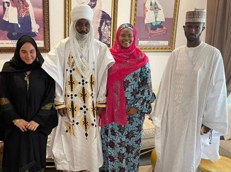 Emir Sanusi Meets with Aminu Sheikh Dahiru [Photos]