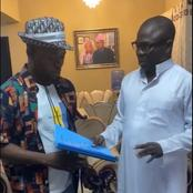 Yoruba Actor Jamiu Azeez gets a plot of land as gift after selling his former land [VIDEO& PHOTOS]