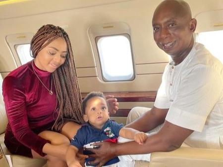 Poco Lee, Broda Shaggy, Others React After Regina Daniels Reveals Photos Of Her Growing Son