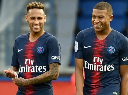See Who Mbappe And Neymar Named As The Toughest Players They Have Faced So Far in Their Career.