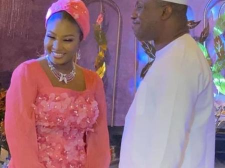 Aisha Buhari, Yakubu Dogara and Other Prominent Nigerian Politicians Attend The Wedding Of 'Bankole'