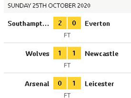 Premier League Round Up Today, 25th Oct.
