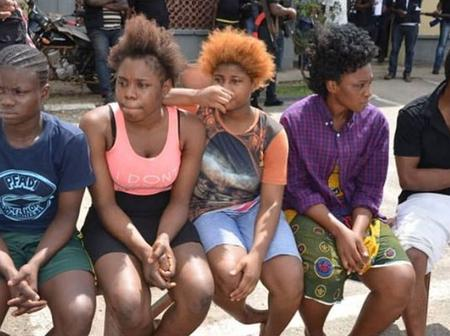 EXPOSED Take A Look At The Lagos Community Where Young Teenage Girls Are Forced To 'Entertain' Men