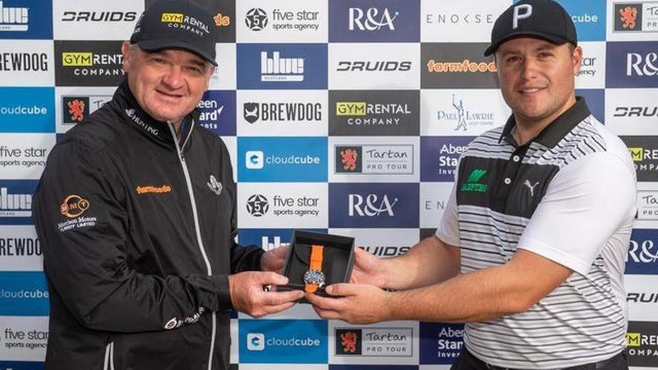 Paul Lawrie sets up 'wee chance' to land first win on his Tartan Pro Tour