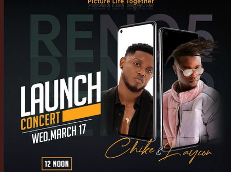 LAYCON and CHIKE performing LIVE today: see UPDATE