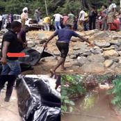 Maxwell Gyimah Who Allegedly Committed Suicide By Drowning In MIM River Finally Washed Ashore