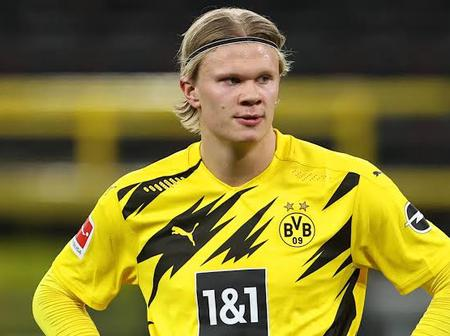 Check Out The Huge Amount Haaland Is Demanding Before He Can Sign For Chelsea Or Man United
