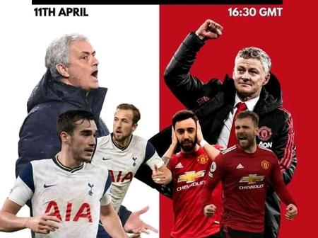 The Red Devils Will Be After Revenge In North London On Super Sunday