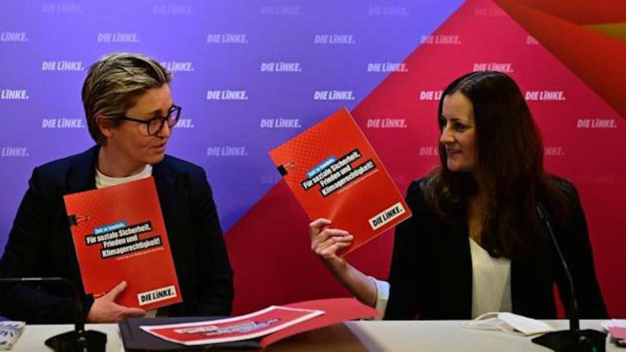 Parteitag - Die Linke entscheidet über Programm für Bundestagswahl