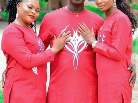 PHOTOS: See The Man That is About to Marry 2 Ladies The Same Day in Delta State