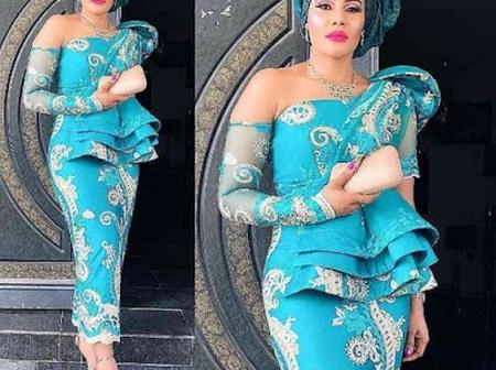 Classy And Trendy Nigerian Lace Styles and Designs For Ladies 2021