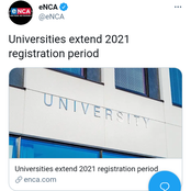 Good news to all new students is that the Universities extend 2021 registration period [opinion]