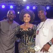 Actress shares new photo with two superstar singers, Psuma and Wasiu