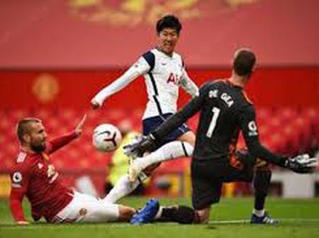 Tottenham Vs Man United: Combined Xi