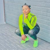 Makhadzi leaves her fans speechless with her recent picture in Drip sneakers.