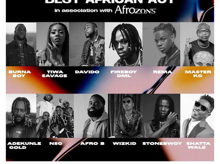 Naija To The World - Who do you think deserve the mobo awards among these 7 Nigerian musicians?