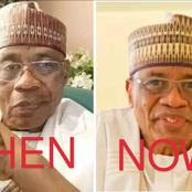 Check The Past And Recent Photos Of This Ex Nigerian Leader Who Survived A Life Threatening Sickness