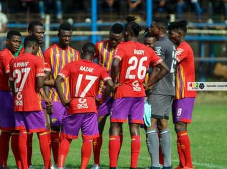 King Eben explains why Hearts of Oak lost a game at Dormaa Ahenkro